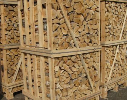 Brennholz aus Birke, natürliche feuchtigkeit